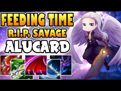 FEEDING TIME / R.I.P. SAVAGE [by Medyo Pogi] ALUCARD BUILD & GAMEPLAY MOBILE LEGENDS