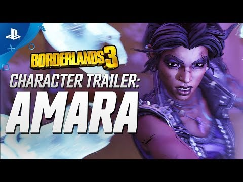 Borderlands 3 - Amara Character Trailer: Looking for a Fight | PS4 видео
