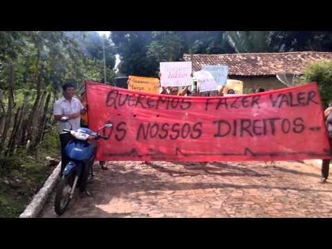 Protesto contra o prefeito charles de Campo Largo do Piauí