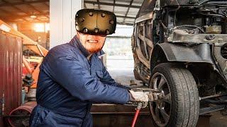 Araba Tamircisi Oldum - Sanal Gerçeklik