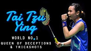 Video Tai Tzu Ying Best Skills 2018 | Queen of Deceptions | World No. 1 | Rallies, Deceptions & Trickshots MP3, 3GP, MP4, WEBM, AVI, FLV Januari 2019