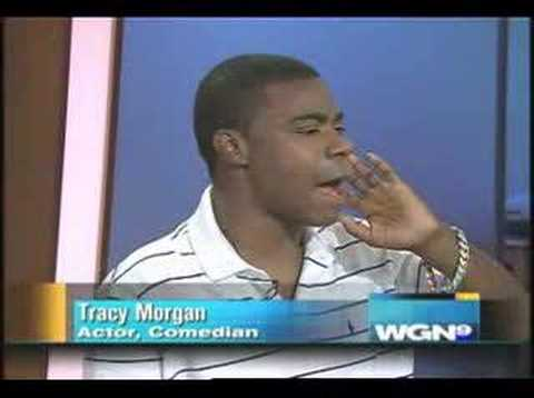 Tracy Morgan appears on WGN in an, um, intereresting state Video