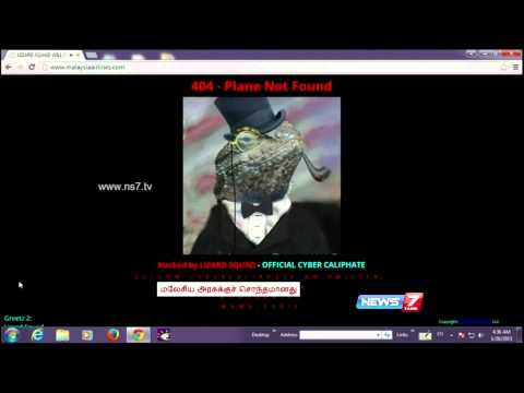 Cyber Caliphate  hacks Malaysia Airlines website