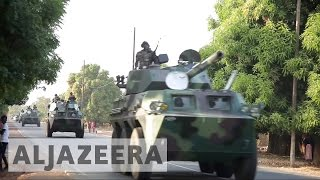 West African nations have given The Gambia's former president Yahya Jammeh until Friday at noon to leave office. They have deployed air, land, and sea forces ...