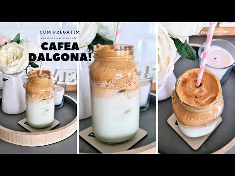 CUM PREGATIM CAFEA DALGONA - Cea mai cremoasa cafea!