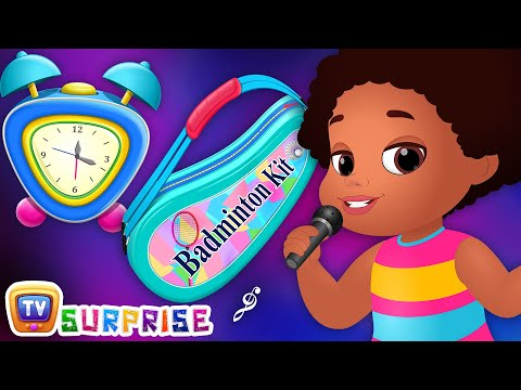 Surprise Eggs Nursery Rhymes - Wake Up Song - ChuChu TV Surprise Learning Videos