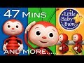 If You're Happy And You Know It | Part 3 | Plus Lots More Nursery Rhymes | 47 Mins By LittleBabyBum!