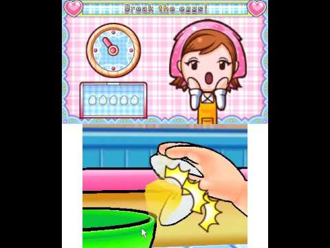 Nintendo 3DS PC Emulator Citra Cooking Mama 4 - Kitchen Magic Play - 닌텐도3DS 에뮬레이터 시트라 쿠킹 마마 4 플레이