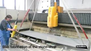 Manufacturing of Technistone quartz surfaces