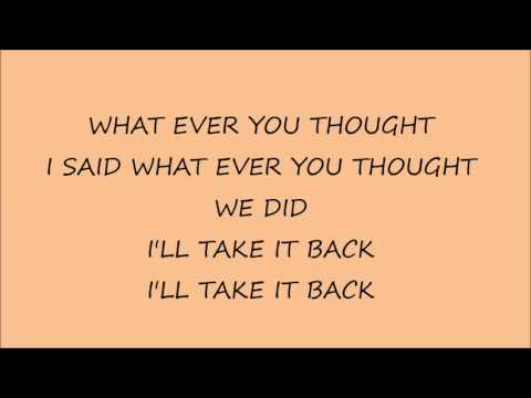 Aura Indian Giver Lyrics