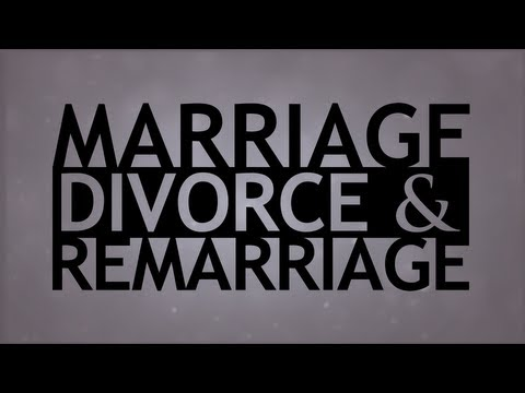 The Truth About... Marriage, Divorce And Remarriage