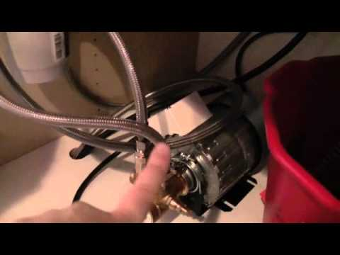 Mavea Purity C Filter Installation Overview