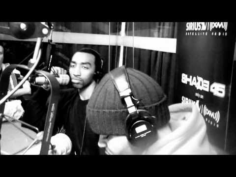 Mysonne kicks a long freestyle  [Live on Shade 45 Radio]