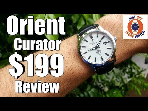 Well spec'd, well priced, so what's the problem? $199 Orient Curator Review.