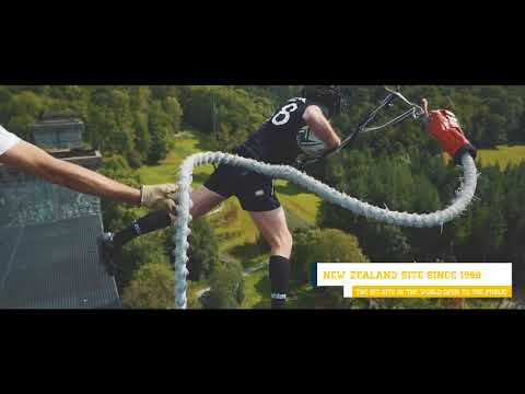 AJ Hackett Normandie 2017 Crazy Jump Session