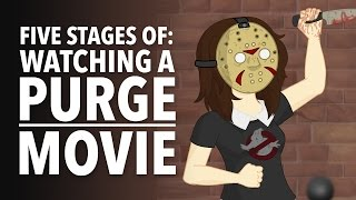 Five Stages of Watching a Purge Movie by How It Should Have Ended