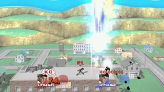 "Basic Little Mac KO ""Combo"" – stuff like this is always so satisfying!"