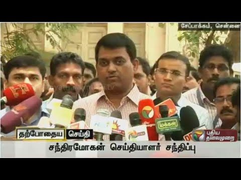 Live-Chennai-Election-Officer-Chandramohan-talks-about-arrangements-for-polling