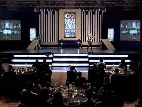 Linzi Stoppard & Ben Lee Electric Violin Rock Stars FUSE Headline at GQ Awards