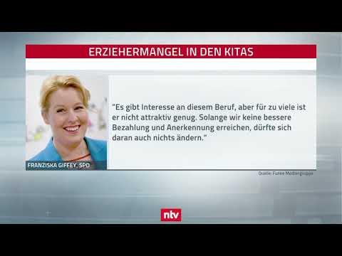Familienministerin Giffey (SPD): 300 Millionen Euro für Erzieher-Ausbildung