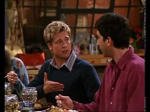 friend - Thanksgiving with Friends, Monica, Rachel, Phoebe, Ross, Matt, Joey and Brad Pitt. One of the best episodes of Friends! HAPPY THANKSGIVING!