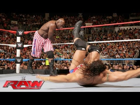 Titus O'Neil vs. Rusev - United States Championship Match: Raw, July 4, 2016