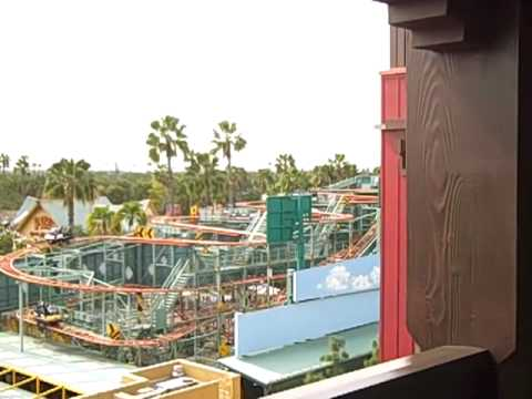 View from Grand Californian Room 5502