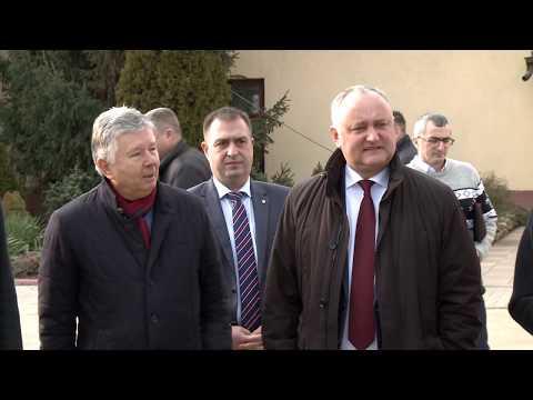 Игорь Додон посетил предприятие «Вина Комрата»