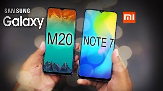 Samsung Galaxy M20 Vs Redmi Note 7- Kon hai Don ?