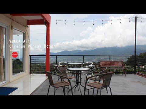Villa Afy Cisarua Puncak Bogor Memiliki View Bagus dan Lepas Serta Dekat Dengan Taman Safari