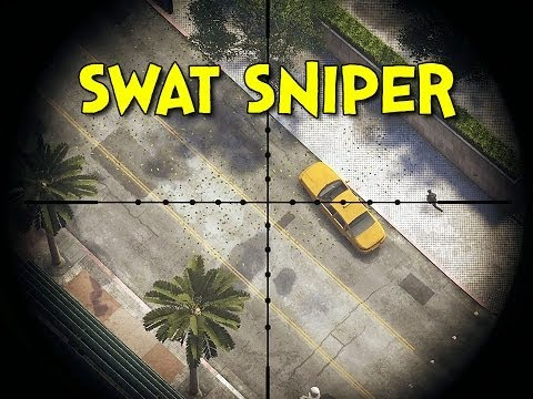 SWAT SNIPER! - Battlefield Hardline Beta (Sniper Gameplay)