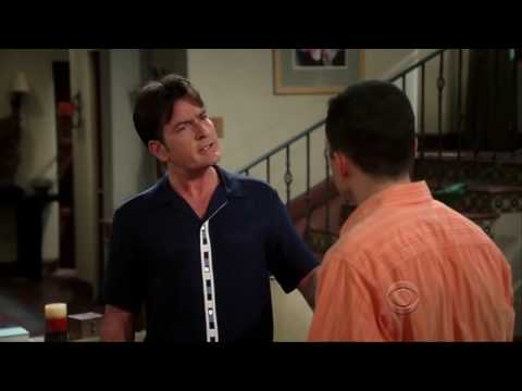 Two and a Half Men Season 7, Episode 2 - Charlie's Gives Up His Principles