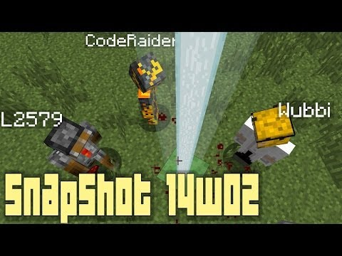 Minecraft 1.8: Snapshot 14w02 - New Blocks, Major Trading & Enchanting Changes and MORE!