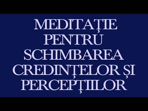 Tu eşti Placebo; Dr. Joe Dispenza; Meditaţia 2