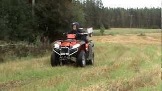 3. KYMCO MXU 500 4X4 OFF ROAD 2008