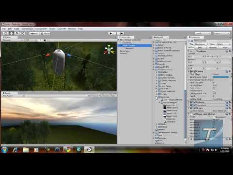 preview-Create a FPS Game in Unity 3D #2 - Adding Skyboxes and Weapons (TechzoneTV)