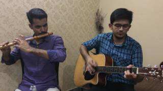 We just tried to play this track at home. The sound and video, both the qualities are not very good but please share this video. :)Flute: Waqas AliGuitar: Rana Faizan