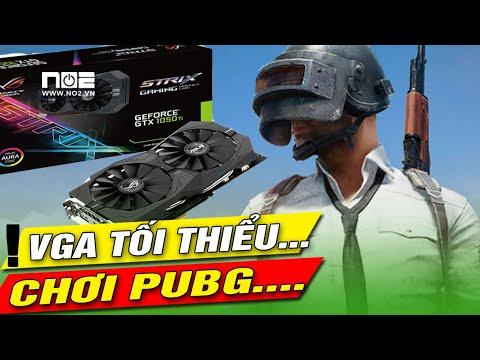 Card màn hình tối thiểu chơi game PUBG