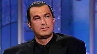 Video What STEVEN SEAGAL says about VAN DAMME and other action stars  [HD] MP3, 3GP, MP4, WEBM, AVI, FLV Maret 2019