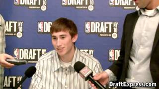Gordon Hayward - 2010 NBA Draft Media Day - DraftExpress