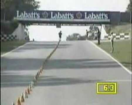 World Record Skateboard Slalom