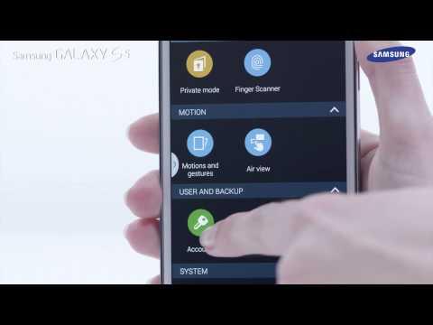 """Samsung GALAXY S5 - jak korzystać z menu """"Ustawienia"""""""