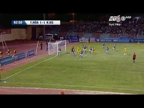 Thế Dương goal (vs K.Kiên Giang) - 04/08/2012 (видео)