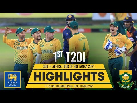 1st T20I Highlights | Sri Lanka vs South Africa 2021
