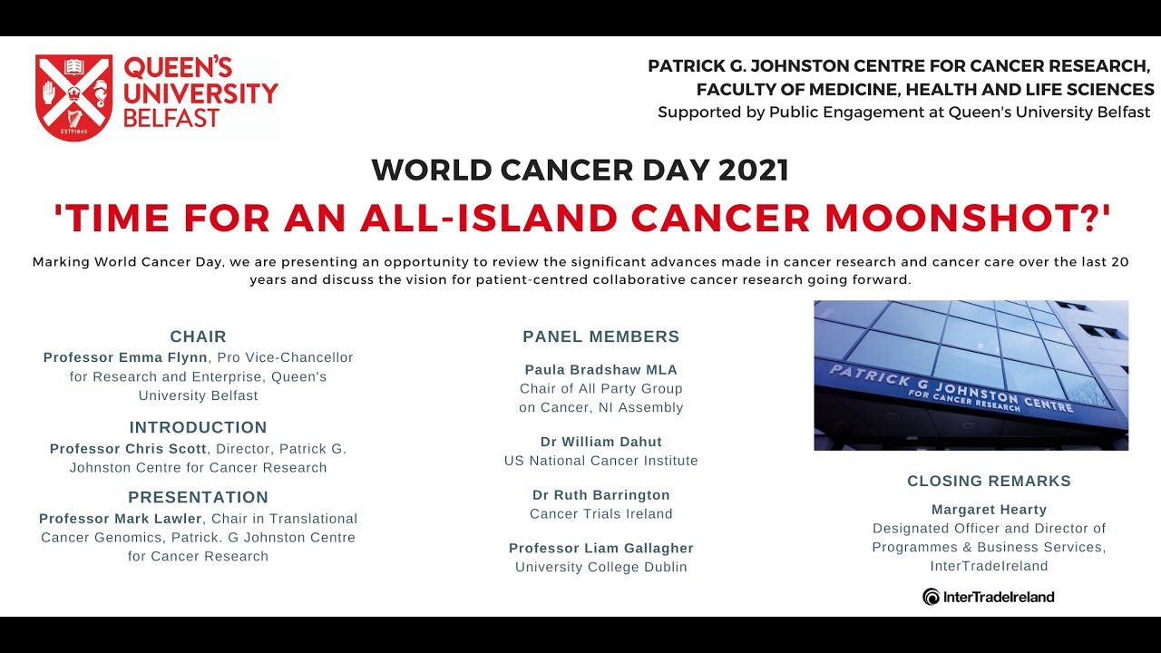 Video Thumbnail: Time for an All-island Cancer Moonshot?