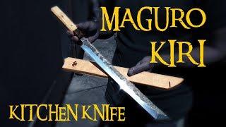 Video TUNA CUTTING KNIFE! Making Of MAGURO KIRI MP3, 3GP, MP4, WEBM, AVI, FLV Maret 2019