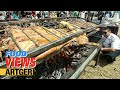 Street Food In Mongolia Roasting Whole Lamb At The Nomadic Bbq Festival