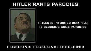 Hitler is informed Beta Film is blocking some parodies