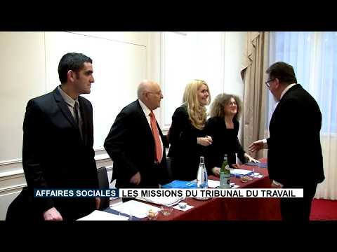 Play video Les missions du Tribunal du Travail
