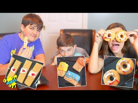 3 EASY HALLOWEEN PARTY SNACK IDEAS!  ~ Collab with Super Duper Kids Blog